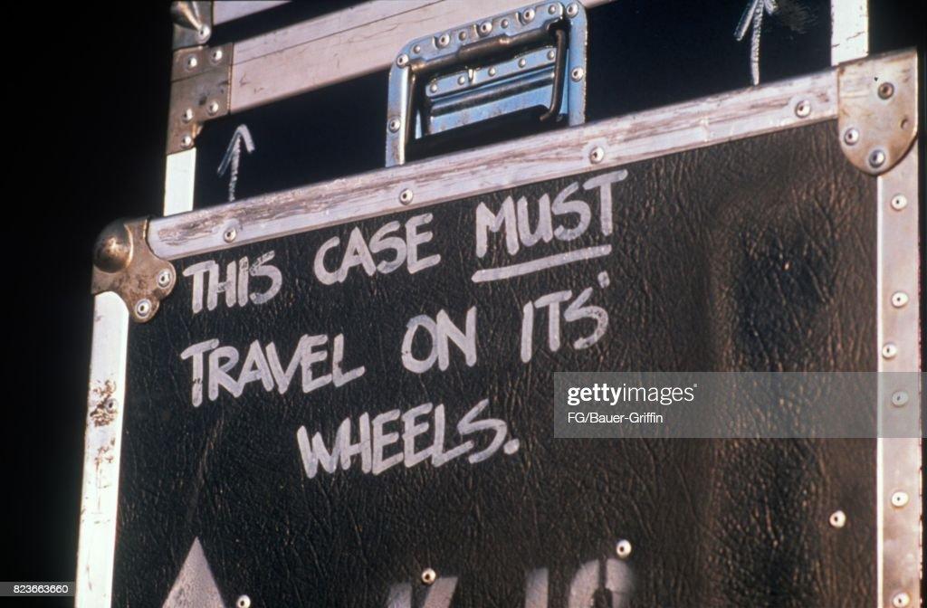 Flight Case For Prince Equipment : News Photo