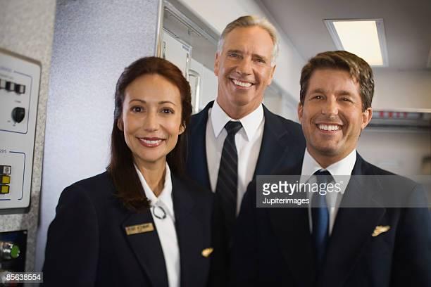 flight crew - crew stock-fotos und bilder