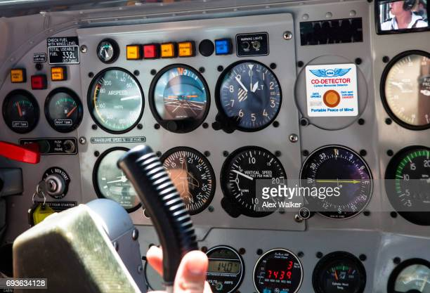 Flight instruments on single engine light aircraft operating tourist flights.