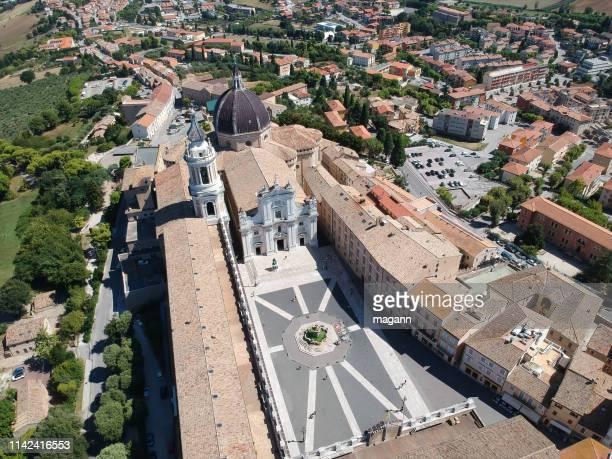 an image flight over basilica della
