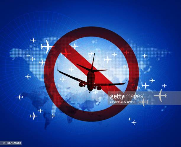 flight restriction - travel ban stock pictures, royalty-free photos & images