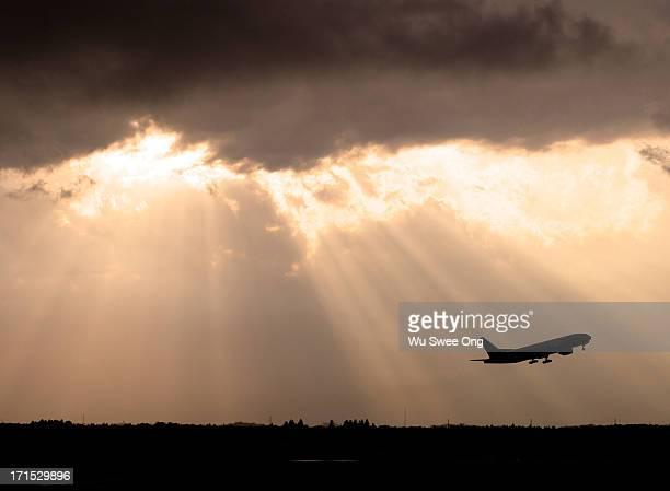 Flight to the heavens