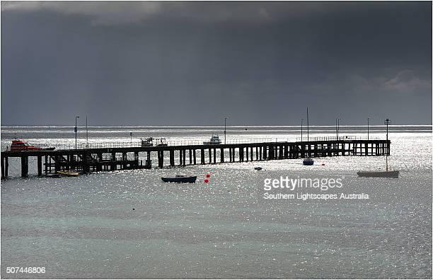 Flinders coastline, Western-port bay, Victoria, Australia.