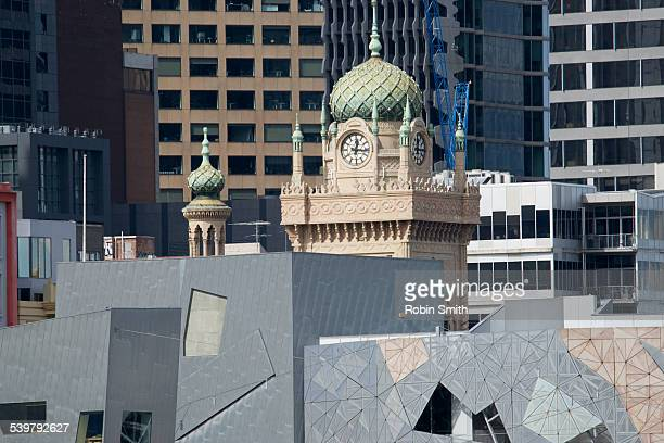 Flinders street, Federation Square