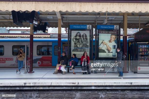 Flinders Street Station in Melbourne, Australien