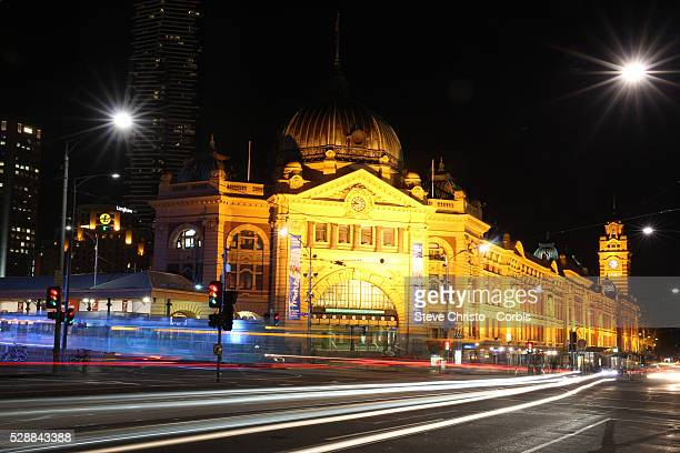 Flinders Street Station is a railway station on the corner of Flinders and Swanston Streets in Melbourne It serves the entire metropolitan rail...