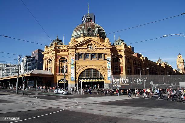 Flinders Train Station