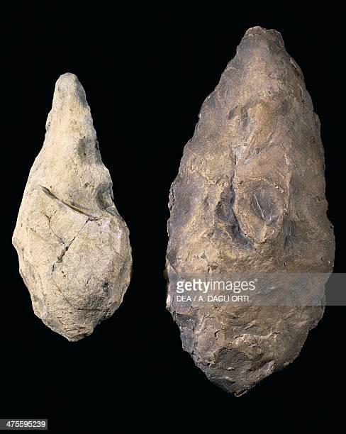 Flint amygdale from Mondouli Congo Lower Palaeolithic Verona Museo Di Storia Naturale