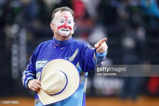 Flint Rasmussen looks on during the PBR World Finals, on November 15th at the AT&T Stadium, Arlington, TX.