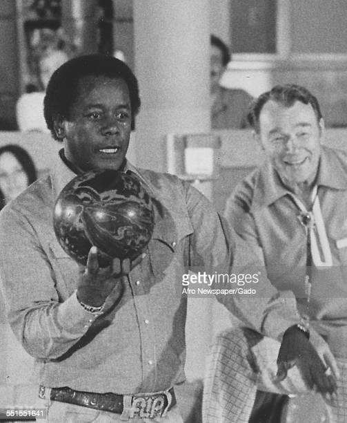 Flip Wilson an American comedian and actor star of his own television show in the 1970s 1975