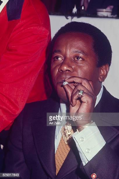 Flip Wilson smoking circa 1970 New York