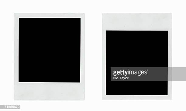 flip-flop photo frames - polaroid stock pictures, royalty-free photos & images