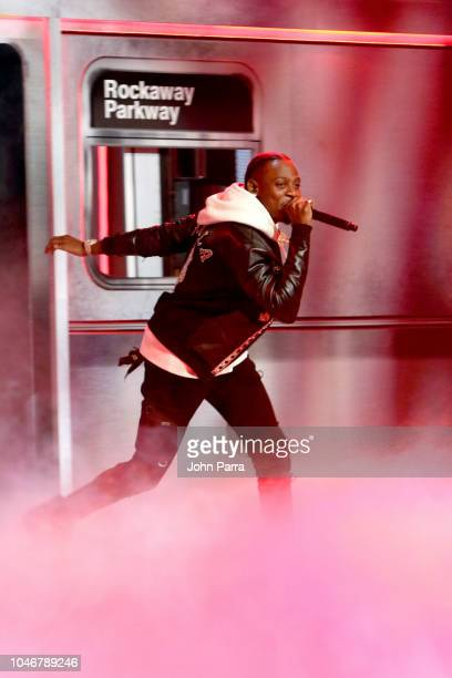 Flipp Dinero onstage during the BET Hip Hop Awards 2018 at Fillmore Miami Beach on October 6 2018 in Miami Beach Florida