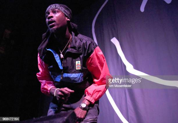 Flipp Dinero performs at The Warfield Theater on June 3 2018 in San Francisco California