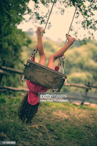 Flipping on swing