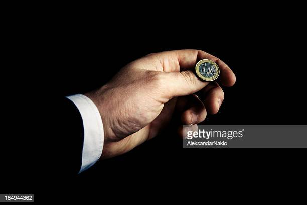 Flipping the Euro coin
