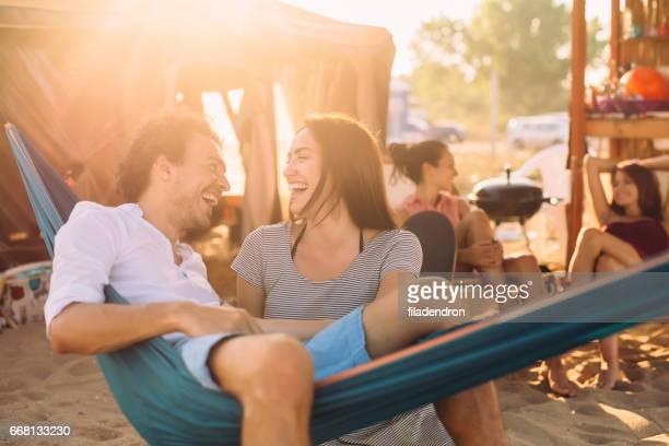 Flirting in the summertime