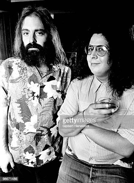 Flo and Eddie posed in Amsterdam Netherlands in 1975