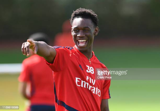 Flo Balogun at London Colney on July 02, 2019 in St Albans, England.