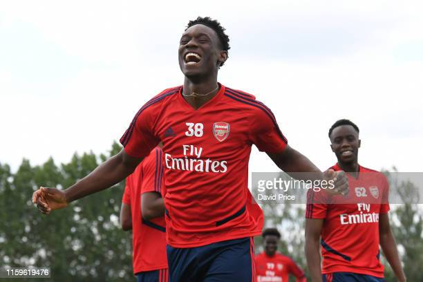 Flo Balogun at London Colney on July 02 2019 in St Albans England