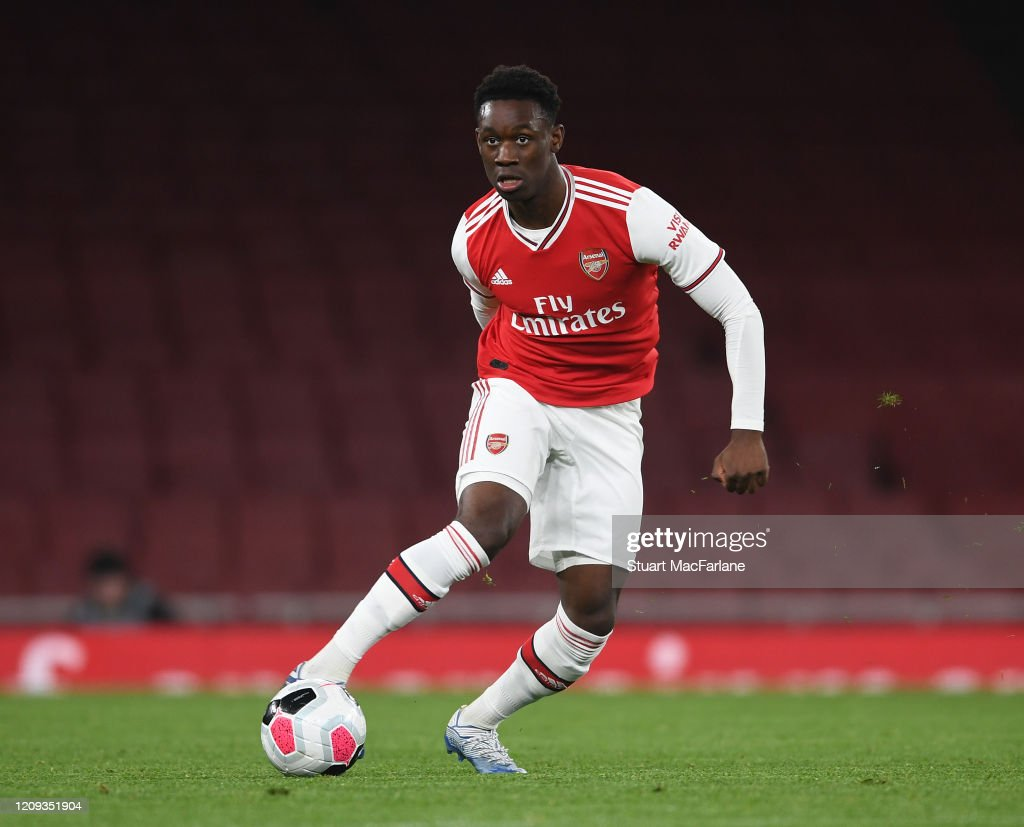 Arsenal U23 v Manchester City U23 - Premier League 2 : News Photo