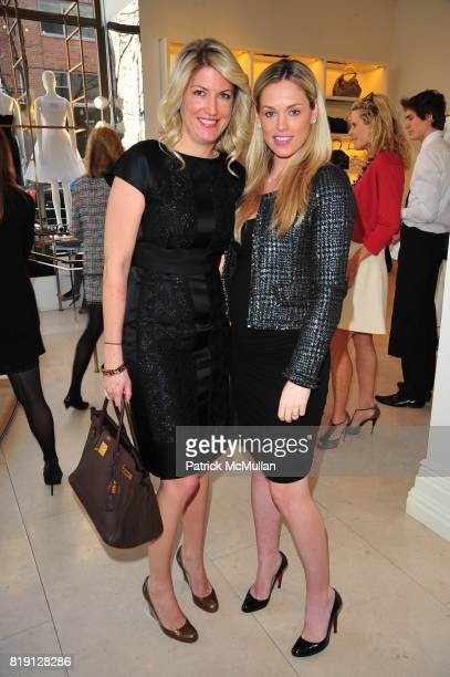 Flo Fulton and Lindsay Fox attend VALENTINO Spring/ Summer 2010 Collection Private Luncheon and Presentation hosted by Samantha Boardman Rosen Shala...