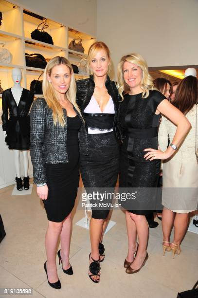 Flo Fulton Christine Mack and Lindsay Fox attend VALENTINO Spring/ Summer 2010 Collection Private Luncheon and Presentation hosted by Samantha...