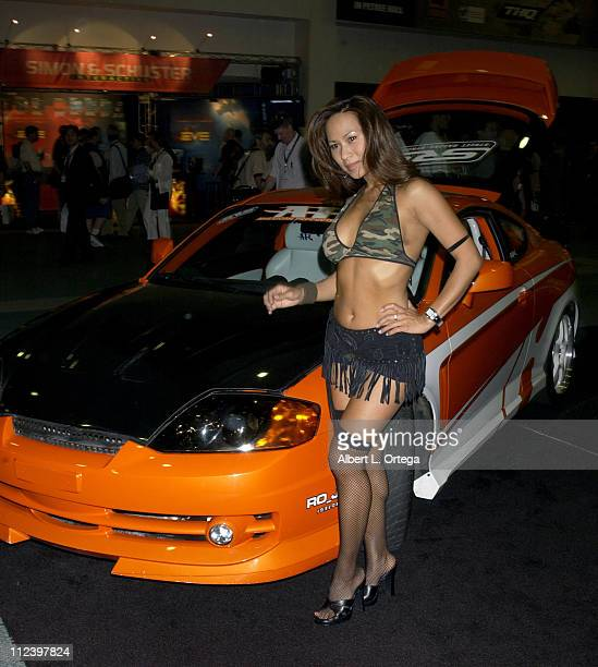 Flo Jalin during E3 Interactive Digital Software Association's Electronic Entertainment Expo 2003 Day 3 at Los Angeles Convention Center in Los...