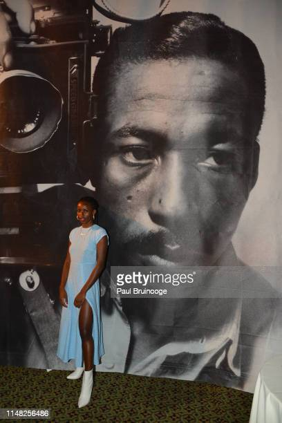 Flo Ngala attends The Gordon Parks Foundation Awards Dinner and Auction at Cipriani 42nd Street, NYC on June 4, 2019 in New York City.