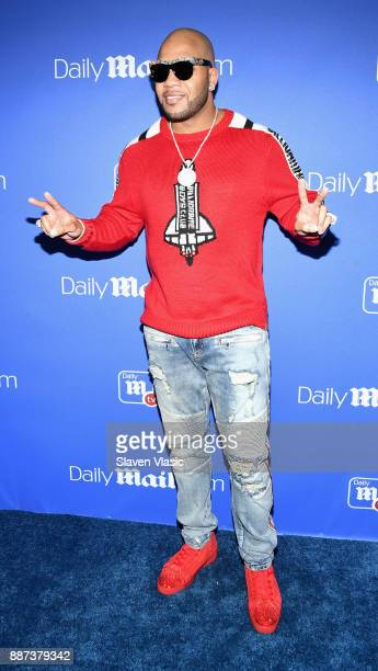 Flo Rida attends DailyMailcom DailyMailTV Holiday Party with Flo Rida on December 6 2017 at The Magic Hour in New York City