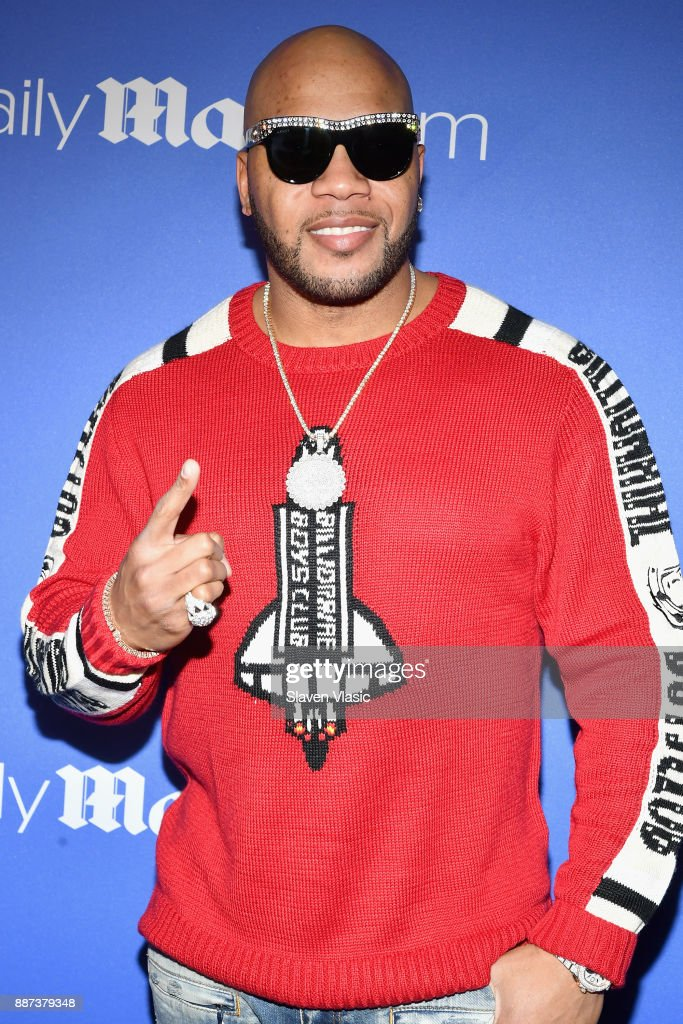 Flo Rida attends DailyMail.com & DailyMailTV Holiday Party with Flo Rida on December 6, 2017 at The Magic Hour in New York City.
