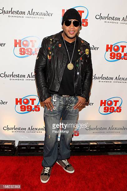 Flo Rida attends Hot 995's Jingle Ball 2012 presented by Charleston Alexander Diamond Importers at The Patriot Center on December 11 2012 in...