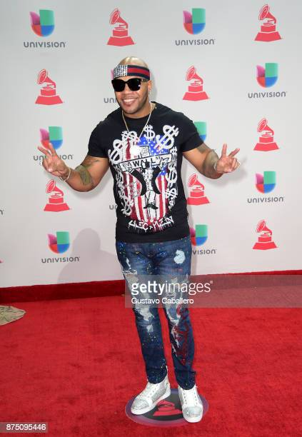 Flo Rida attends the 18th Annual Latin Grammy Awards at MGM Grand Garden Arena on November 16 2017 in Las Vegas Nevada