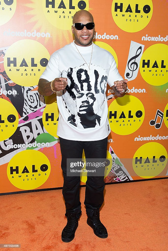 Flo Rida attends the 2015 Halo Awards at Pier 36 on November 14, 2015 in New York City.