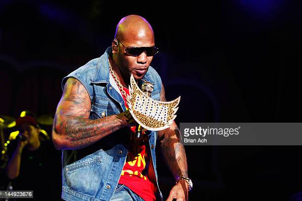 Flo Rida performs at 1035 KTU's KTUphoria at PNC Bank Arts Center on May 20 2012 in Holmdel City New Jersey