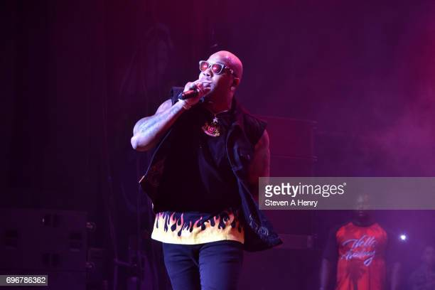 Flo Rida performs BLI Summer Jam 2017 at Northwell Health at Jones Beach Theater on June 16 2017 in Wantagh New York