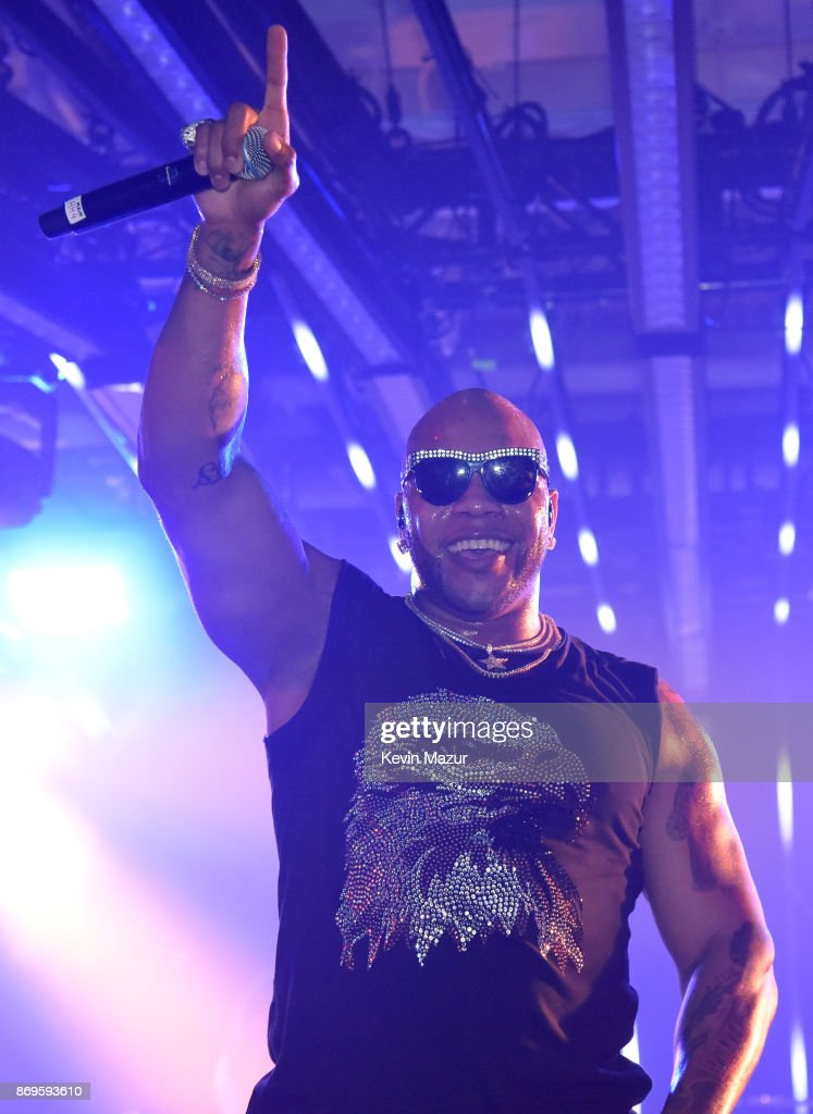 Flo Rida performs onstage at the Samsung annual charity gala 2017 at Skylight Clarkson Sq on November 2, 2017 in New York City.