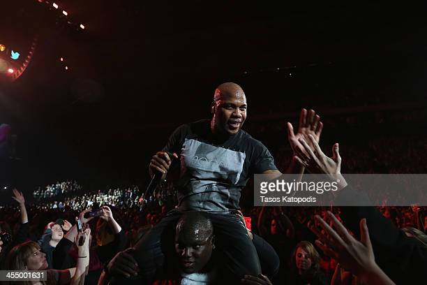 Flo Rida performs onstage during 101.3 KDWB's Jingle Ball 2013, at Xcel Energy Center on December 10, 2013 in St. Paul, Minnesota.