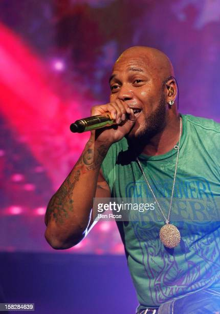 Flo Rida performs onstage during Power 961's Jingle Ball 2012 at the Philips Arena on December 12 2012 in Atlanta