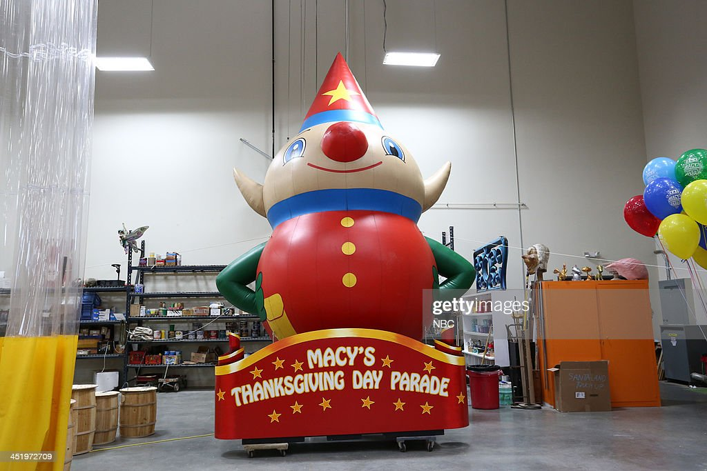 S THANKSGIVING DAY PARADE -- Float Studio Event -- Pictured: Macy's Thanksgiving Day Parade float --