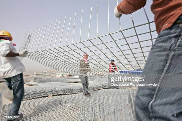 Floating Bridge Deira Site visit Dubai United Arab Emirates April 2007 Nukote Coating Systems Middle East won the coating contract for the US $42...