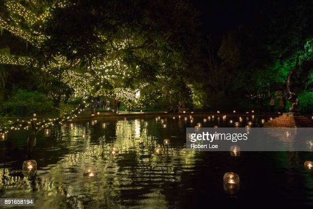 Floating Candles at The Night of a Thousand Candles
