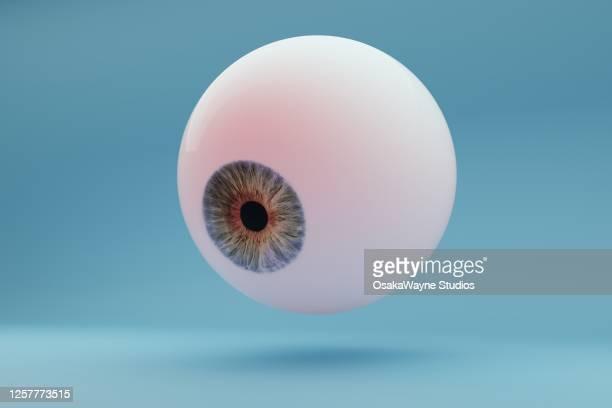 floating eyeball - olhar imagens e fotografias de stock