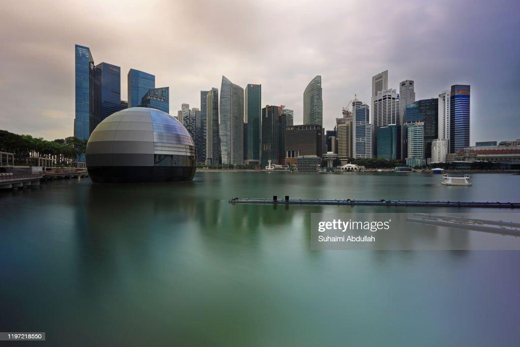 Singapore Scenery : Foto jornalística