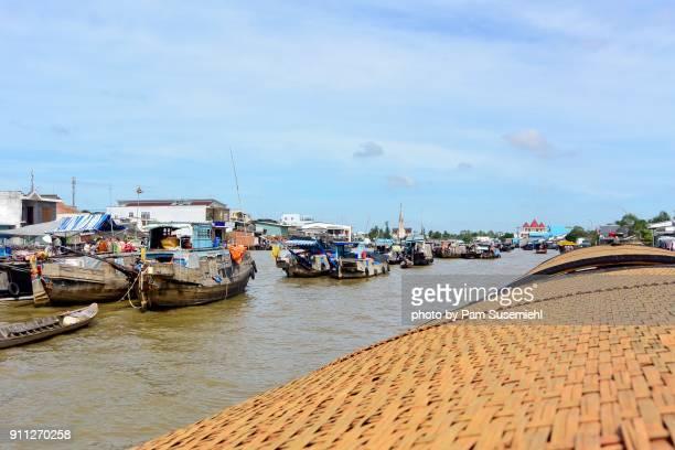 Floating Market, Cái Bè, Vietnam
