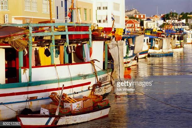 Floating Market in Netherlands Antilles