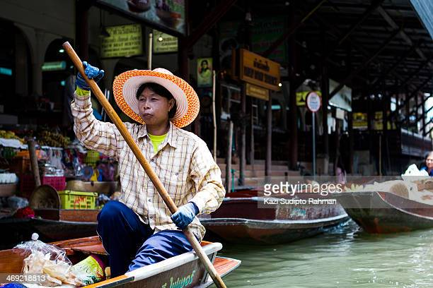 CONTENT] A floating market is a market where goods is sold from boats Originating in times and places where water transport played an important role...