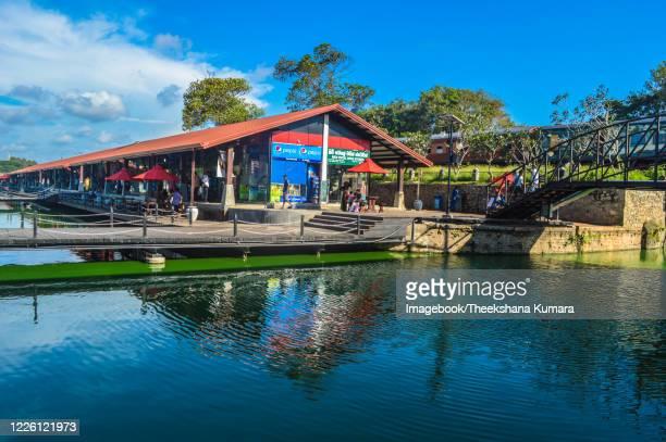 floating market of sri lanka. - imagebook stock pictures, royalty-free photos & images