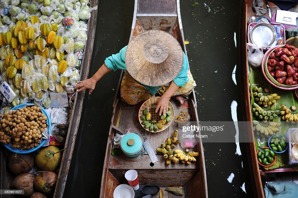 Floating Market : Stock Photo