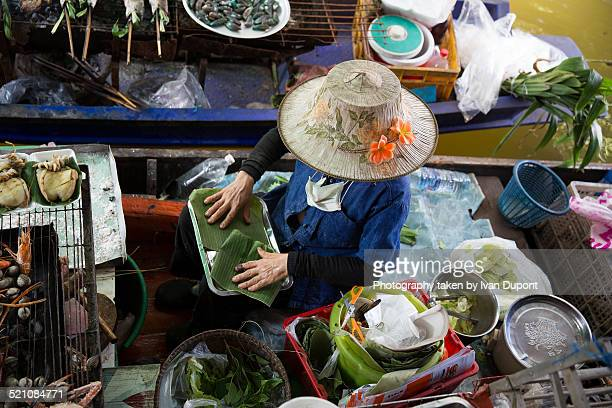 Floating market Taling Chan